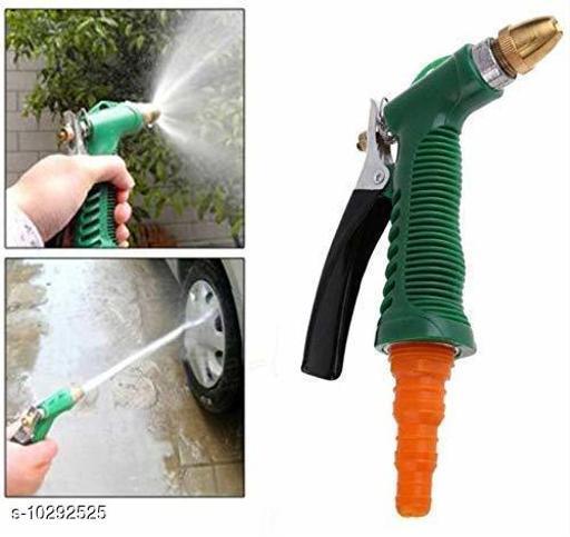 Water Spray Gun - Plastic Trigger High Pressure Water Spray Gun for Car/Bike/Plants - Gardening Washing