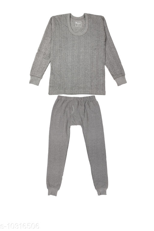Kids Winter Wear Thermal Top and Bottom Set