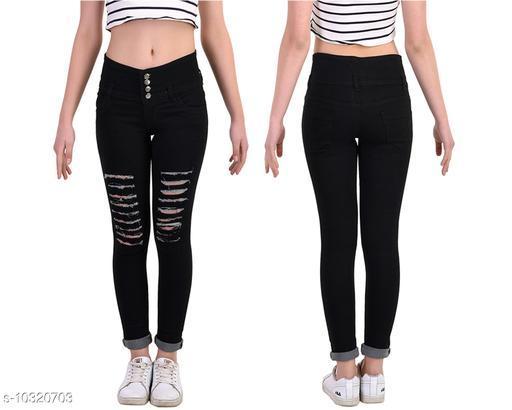 Ansh Fashion Wear Women's Stylish Denim Jeans