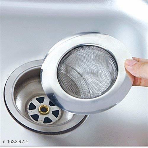 Water Purifier MATIMAN Stainless Steel Strainer Kitchen Drain Basin Basket Filter Stopper Drainer Sink Jali, 11.3 cm. Product Name: MATIMAN Stainless Steel Strainer Kitchen Drain Basin Basket Filter Stopper Drainer Sink Jali 11.3 cm. Brand Name: MATIMAN ENTERPRISE Country of Origin: India Sizes Available: Free Size    Catalog Name: MATIMAN ENTERPRISE Water Purifier CatalogID_1875139 C103-SC1480 Code: 972-10322564-