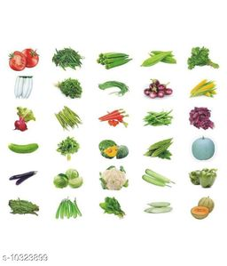 Variety Combo Pack Of 30 Vegetable Seeds For Terrace And Kitchen Gardening