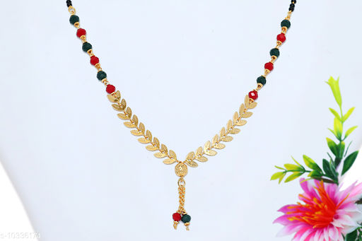 Necklaces & Chains Stylo Women Jewellery Accessories  *Base Metal* Lac  *Sizes Available* Free Size *    Catalog Name: Latest Women Jewellery Accessories CatalogID_1877981 C77-SC1092 Code: 112-10336174-