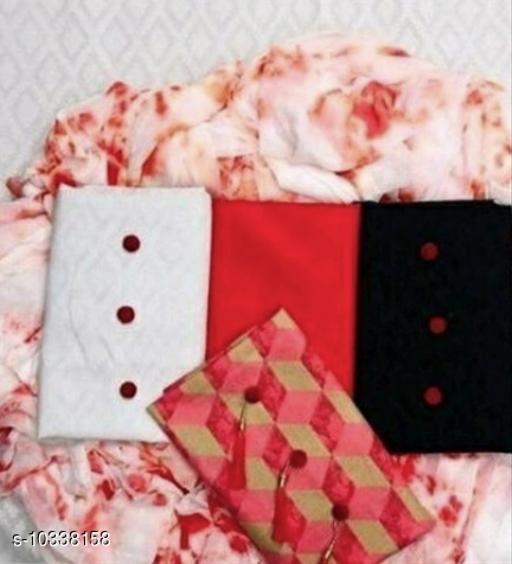Nilkanth attite PRESENTS THE BEAUTIFUL Trendy Chicknkari cotton suits & Dress Matirial FOR WOMAN