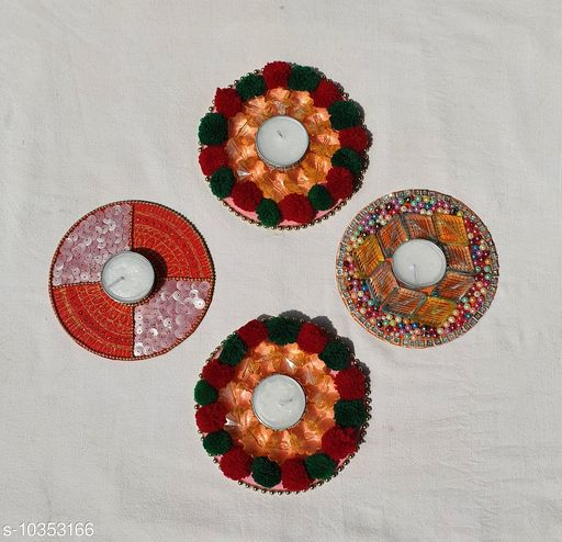 Festive Diyas & Candles Fancy Festive Diyas  *Pack* Multipack  *Sizes Available* Free Size *    Catalog Name: Attractive Festive Diyas CatalogID_1881904 C128-SC1604 Code: 813-10353166-