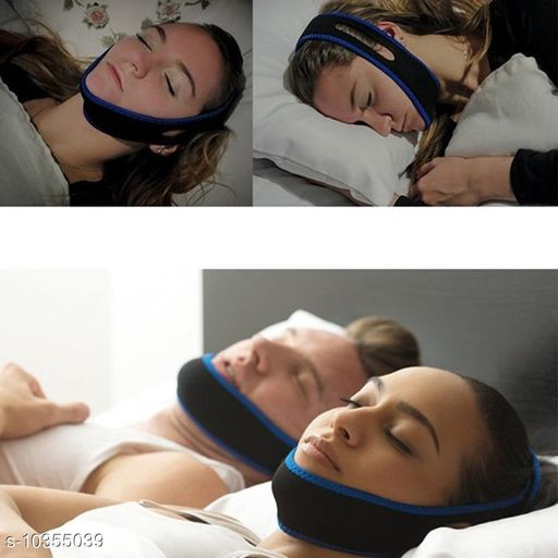 Other Health Appliances Anti-Snoring chin strap  *Product Type* Chin Strap  *Material* Cotton  *Size* Free Size  *Sizes Available* Free Size *    Catalog Name: Anti-Snoring chin strap CatalogID_1882363 C125-SC1526 Code: 544-10355039-