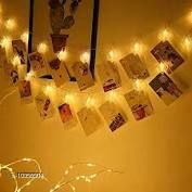 Diwali Lightings 10 Photo Clip Fairy String Lights for Outdoor,Indoor, Anniversary, Birthday Party,Diwali, Christmas Decoration,Valentine Gifts Girlfriend Or Boyfriend, Bedroom, Home Photos Light Décor  *Product Name* 10 Photo Clip Fairy String Lights for Outdoor,Indoor, Anniversary, Birthday Party,Diwali, Christmas Decoration,Valentine Gifts Girlfriend Or Boyfriend, Bedroom, Home Photos Light Décor  *Brand Name* VENZISA  *Material* Glass  *Multipack* 10  *Color* Multicolor  *Type* Decorative Lights  *Sizes*   *Sizes Available* Free Size *    Catalog Name: VENZISA Diwali Lightings CatalogID_1882730 C98-SC1377 Code: 554-10356504-