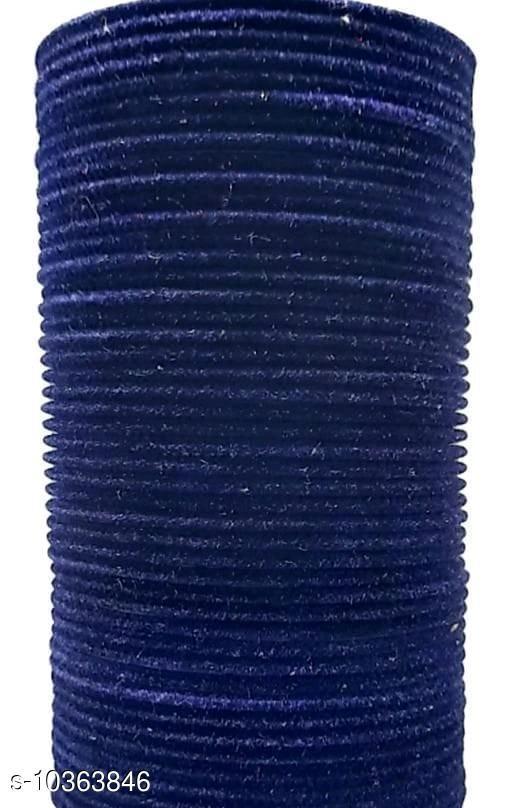 TRENDY BANGLE BLUE (SET OF 48 PCS)