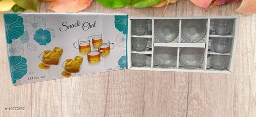 Bar, Glassware & Drinkware Glassware and Drinkware  *Material* Glass  *Pack* Multipack  *Sizes Available* Free Size *    Catalog Name: Designer Water & Juice Glasses CatalogID_1886695 C136-SC1130 Code: 565-10372882-