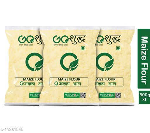 Atta Premium Quality Flour  *Brand Name* Goshudh  *Type* Flour  *Capacity* 500 gm  *Multipack* 3  *Sizes Available* Free Size *    Catalog Name: Premium Quality Flour CatalogID_1888800 C89-SC1772 Code: 789-10381545-