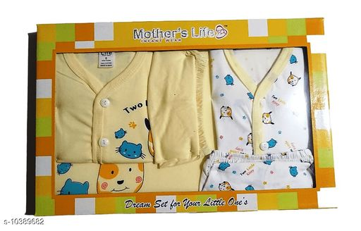 Clothing Sets BABY GIFT SET  *Top Fabric* Cotton  *Bottom Fabric* Cotton  *Multipack* Single  *Sizes*  0-3 Months  *Sizes Available* 0-3 Months *    Catalog Name: Pretty Funky Boys Top & Bottom Sets CatalogID_1890845 C62-SC1147 Code: 063-10389682-