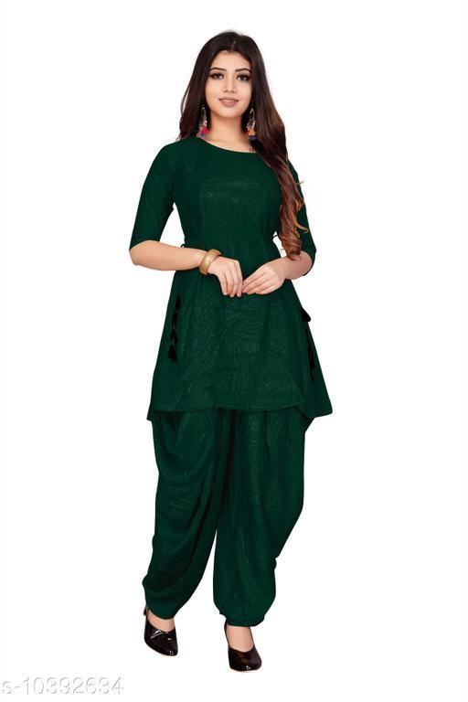 Ethnic Bottomwear - Patiala Pants Hit Patiala kurti with Dhoti pant   *Fabric* Rayon  *Multipack* 1  *Sizes*   *38 (Waist Size* 36 in, Length Size  *Sizes Available* 38, 40, 42, 44 *    Catalog Name: Latest Women Patialas CatalogID_1891617 C74-SC1018 Code: 856-10392634-
