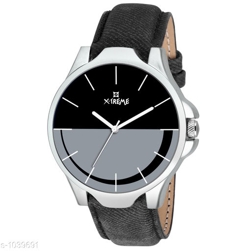 Attractive Analog Leather Watche