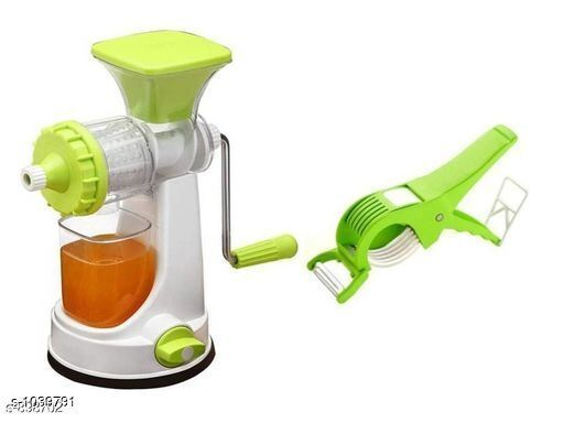 Manual Power Free Hand Juicer & Vegetable Cutter