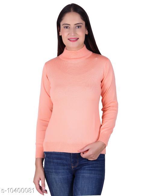 Ogarti woollen High neck Bawa Colour sweater