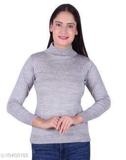 Ogarti woollen High neck Grey Colour sweater