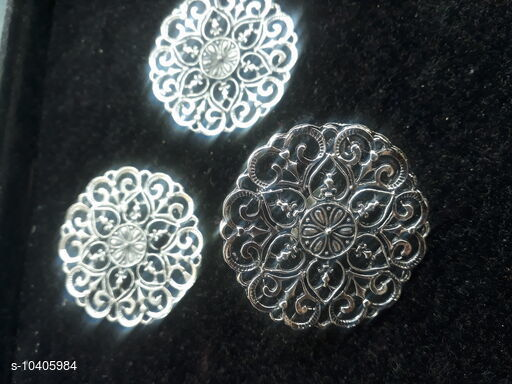 Earrings & Studs Trendy Women  Earring set with matching finger ring  *Base Metal* Silver  *Plating* Oxidised  Silver Plated  *Stone Type* Artificial Stones  *Sizing* Adjustable  *Type* Finger Ring with matching Earrings  *Multipack* 1  *Sizes* Free Size  *Sizes Available* Free Size *    Catalog Name:   Earring set with matching finger ring CatalogID_1894715 C77-SC1091 Code: 362-10405984-