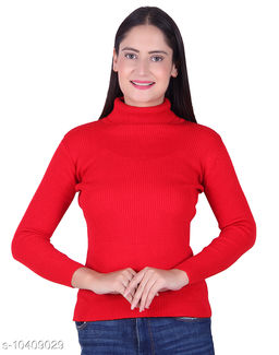 Ogarti woollen Red Colour women's Skivy