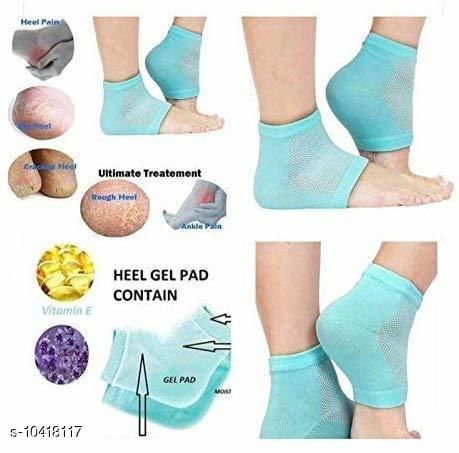 Silicone Gel Heel Pad Protector Insole Cups