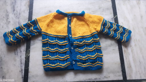 Sweaters beautiful knitted jacket  *Fabric* Wool  *Multipack* 1  *Sizes*  0-1 Years  *Sizes Available* 0-1 Years *    Catalog Name: Princess Classy Girls Sweaters CatalogID_1897601 C62-SC1149 Code: 753-10419889-