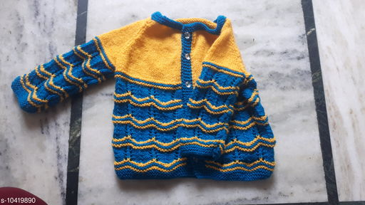 Sweaters beautiful knitted jacket  *Fabric* Wool  *Multipack* 1  *Sizes*  0-1 Years  *Sizes Available* 0-1 Years *    Catalog Name: Princess Classy Girls Sweaters CatalogID_1897601 C62-SC1149 Code: 753-10419890-