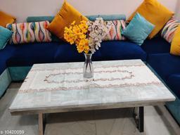 Groki Multicolor Cotton Table Runner