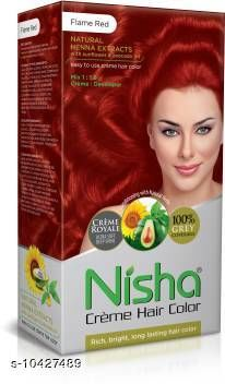 Hair Care Fancy cool product  *Product Name* Fancy cool product  *Color* Red  *Multipack* 1  *Sizes Available* Free Size *    Catalog Name:  Advanced Ultra Hair Color CatalogID_1899260 C50-SC1249 Code: 181-10427489-