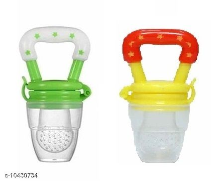 Tiny Tycoonz Silicone BPA Free Baby Food/Fruit Pacifier/Teether Soother/Nibbler