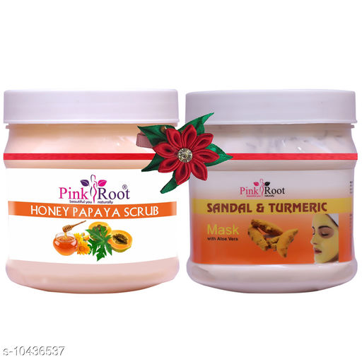 Scrubs & Wipes PRN HONEY PAPAYA SCRUB 500-PRN SANDAL & TURMERIC MASK 500 Product Name: PRN HONEY PAPAYA SCRUB 500-PRN SANDAL & TURMERIC MASK 500 Type: Scrub Multipack: 2 Country of Origin: India Sizes Available: Free Size *Proof of Safe Delivery! Click to know on Safety Standards of Delivery Partners- https://ltl.sh/y_nZrAV3   Catalog Name:  Proffesional Moisturizing Bath Scrubs & Soaps CatalogID_1901369 C89-SC1752 Code: 824-10436537-