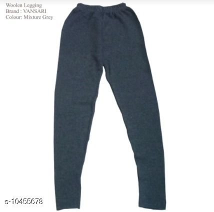 Leggings & Tights Kids Woollen Legging  *Fabric* Wollen  *Pattern * Solid Multipack ;1  *Sizes*  22  *Sizes Available* Free Size *    Catalog Name: Pretty Stylish Girls Leggings, Tights & Pajamas CatalogID_1906231 C62-SC1157 Code: 582-10455678-