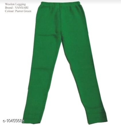 Leggings & Tights Kids Woollen Legging  *Fabric* Wollen  *Pattern * Solid Multipack ;1  *Sizes*  22  *Sizes Available* Free Size *    Catalog Name: Pretty Stylish Girls Leggings, Tights & Pajamas CatalogID_1906231 C62-SC1157 Code: 582-10455681-