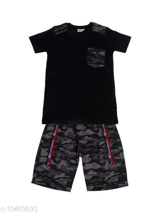 Tshirts & Polos BOYS SET   *Fabric* Cotton  *Multipack* Single  *Pattern* Printed  *Sizes*  4-5 Years, 5-6 Years, 1-2 Years, 3-4 Years, 6-7 Years, 7-8 Years, 2-3 Years  *Sizes Available* 2-3 Years, 3-4 Years, 4-5 Years, 5-6 Years, 6-7 Years, 7-8 Years, 1-2 Years *    Catalog Name:  Boys Tshirts & Polos CatalogID_1907342 C59-SC1173 Code: 294-10460690-