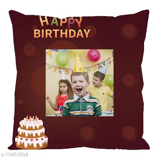 Personalized Gifts Personalized Cushion Cover with filler  *Fabric * Satin  *Pattern * Printed  *Multipack * 1  *Size * Length  *Sizes Available* Free Size *    Catalog Name: Personalized Cushion Cover with filler vol-10 CatalogID_1907533 C127-SC1810 Code: 962-10461634-