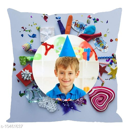 Personalized Gifts Personalized Cushion Cover with filler  *Fabric * Satin  *Pattern * Printed  *Multipack * 1  *Size * Length  *Sizes Available* Free Size *    Catalog Name: Personalized Cushion Cover with filler vol-10 CatalogID_1907533 C127-SC1810 Code: 962-10461637-