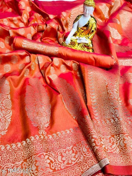 Gowns Banita Sensational Sarees  *Saree Fabric* Jacquard  *Blouse* Saree with Multiple Blouse  *Blouse Fabric* Jacquard  *Pattern* Woven Design  *Blouse Pattern* Woven Design  *Multipack* Single  *Sizes*   *Free Size (Saree Length Size* 5.5 m, Blouse Length Size  *Sizes Available* Free Size *    Catalog Name: Vedika Fashionable Women Gowns CatalogID_1907592 C79-SC1289 Code: 5751-10461927-