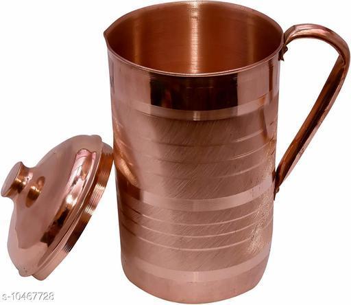 Kitchenzilla Printed Copper Jug