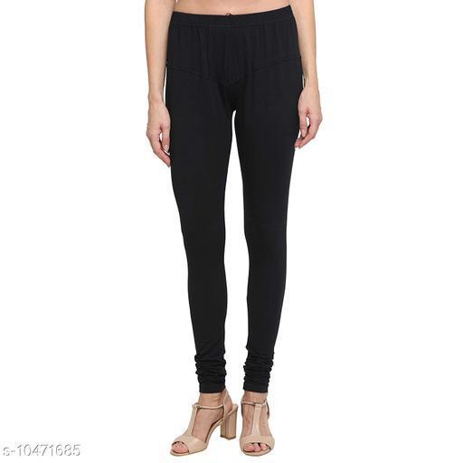 SAAKAA Women's Cotton Lycra Leggings (Free-Size)