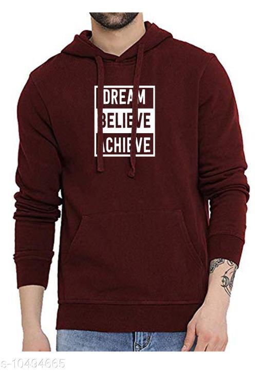 DBA Printed Hooded Neck Sweatshirt for Men