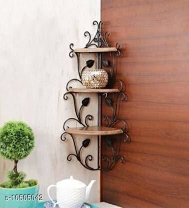 Shelves rc-iron wall corner  *Material* Wooden  *Pack* Pack of 1  *Sizes Available* Free Size *    Catalog Name: Essential Wall Shelves CatalogID_1918190 C127-SC1622 Code: 347-10505042-