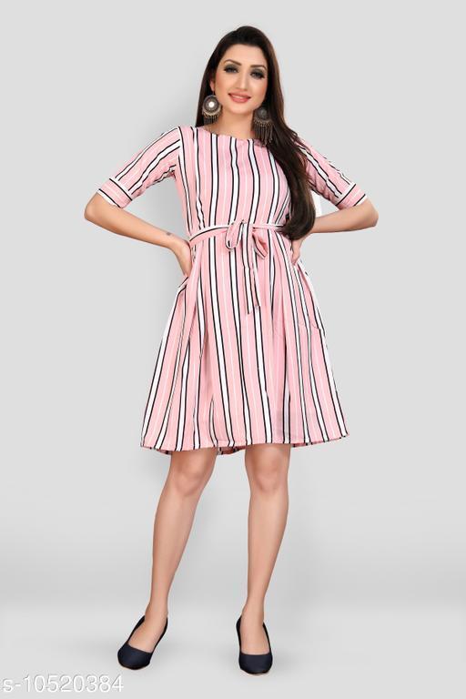 Stylish Poly Crepe Dresses