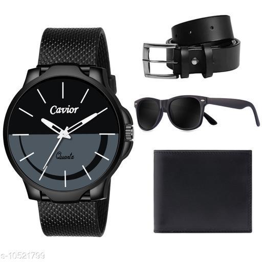 Black Watch,Wallet,Belt,Sunglass For Men