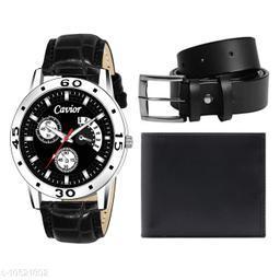 Black Watch,Wallet,Belt For Men
