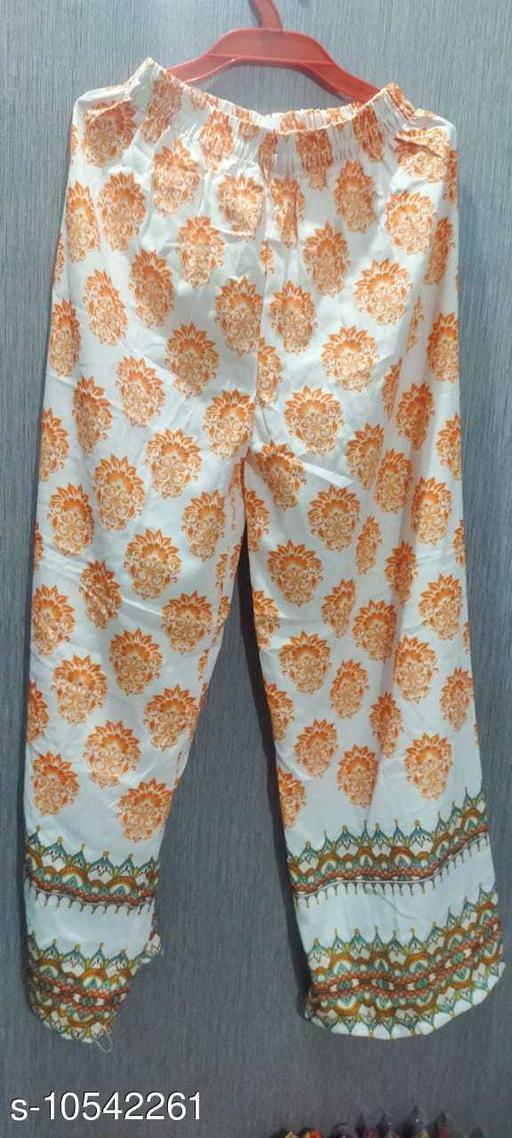 Ethnic Bottomwear - Sharara PRINTED PLAZZO FOR SUPER COLLECTION  *Sizes*   *Sizes Available* Free Size *    Catalog Name: Chitrarekha Ensemble Sharara CatalogID_1926984 C74-SC1466 Code: 853-10542261-