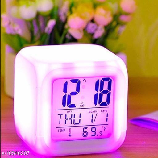 KUSHWAHA Color Changing Digital Clock
