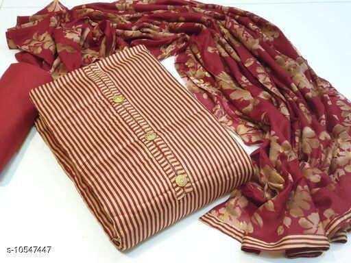 Suits & Dress Materials Alisha Superior Salwar Suits & Dress Materials  *Top Fabric* Pakistani Cotton + Top Length  *Bottom Fabric* Cotton + Bottom Length  *Dupatta Fabric* Cotton + Dupatta Length  *Type* Un Stitched  *Pattern* Printed  *Multipack* Single  *Sizes Available* Un Stitched *    Catalog Name: Alisha Superior Salwar Suits & Dress Materials CatalogID_1928211 C74-SC1002 Code: 607-10547447-