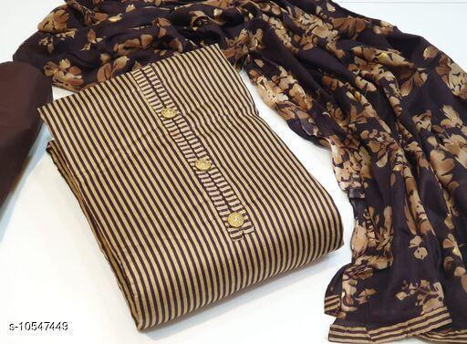 Suits & Dress Materials Alisha Superior Salwar Suits & Dress Materials  *Top Fabric* Pakistani Cotton + Top Length  *Bottom Fabric* Cotton + Bottom Length  *Dupatta Fabric* Cotton + Dupatta Length  *Type* Un Stitched  *Pattern* Printed  *Multipack* Single  *Sizes Available* Un Stitched *    Catalog Name: Alisha Superior Salwar Suits & Dress Materials CatalogID_1928211 C74-SC1002 Code: 607-10547449-