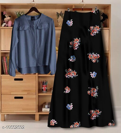 Top and skirts