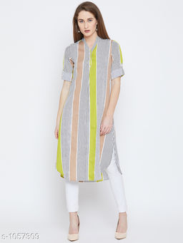 Women's Printed Light Multicolour Crepe Top