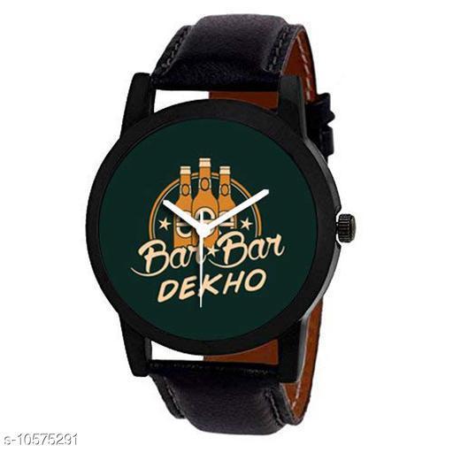 BAR- BAR Dekho Edition Analog Watch