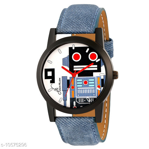 Graphical Edition Wrist Watch For Men