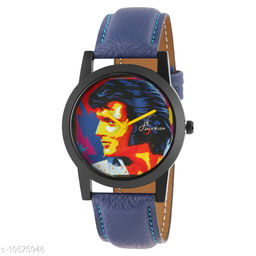 Graphic Analog Wrist Watch